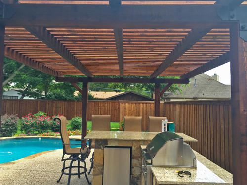 Arbors in Dallas by Firehouse Decks